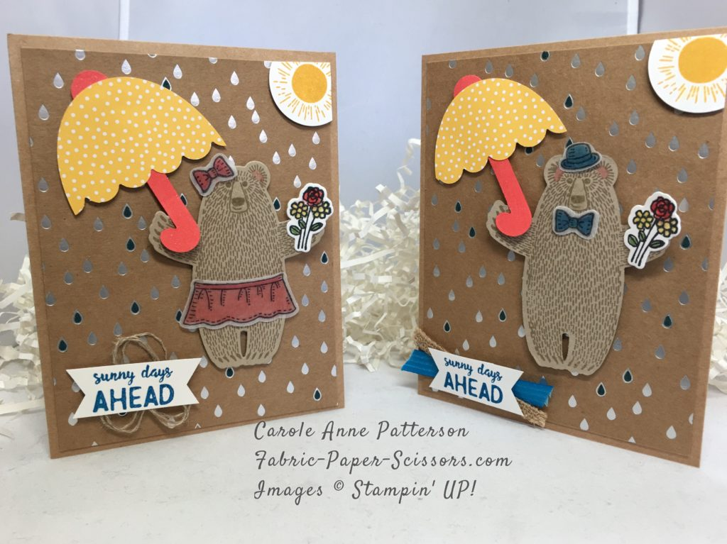 Two Cards...Two Bears