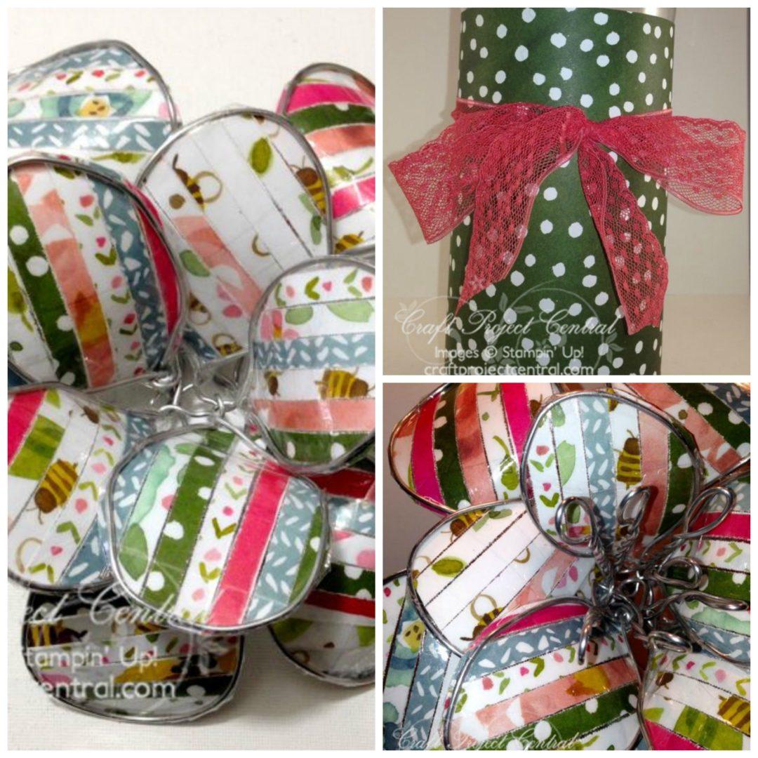 Wire Flower Sculpture Gift Set