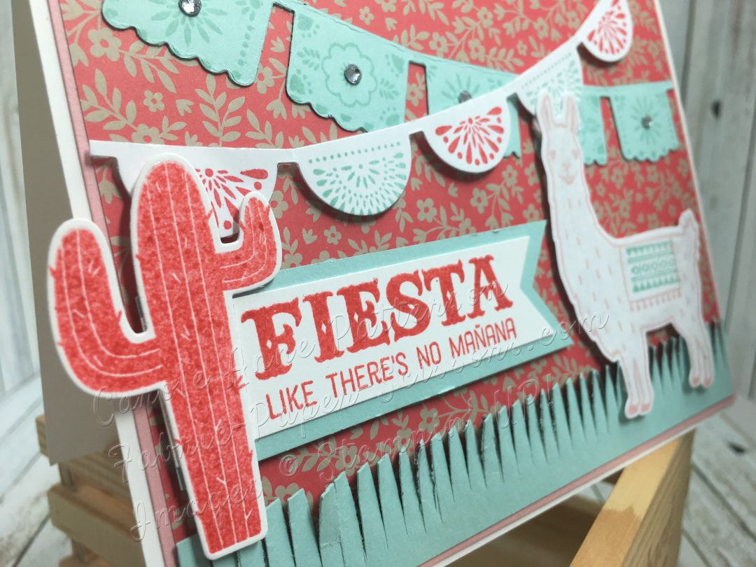 This card was a TOP PICK in both the Color Challenge #CCMC412 and Stampin Up Only #151Favorite New Papers