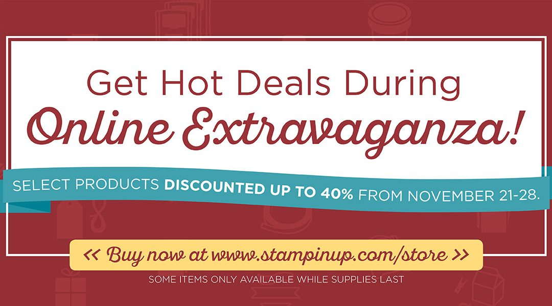 Last Day Online Extravaganza and 24 Hour Flash Sale!